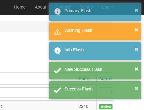 การจัดการกับ Flash Message ใน Yii Framework 2