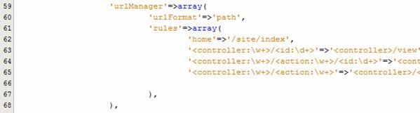 การเปลี่ยน site/index เป็น home ใน URL