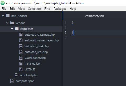 สร้าง Project PHP และจัดการ Package ด้วย Composer