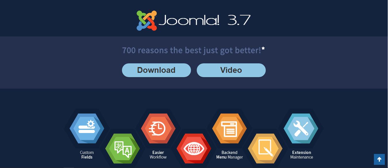 Upgrade Joomla 3.6.5 สู่ Joomla 3.7 แบบออนไลน์